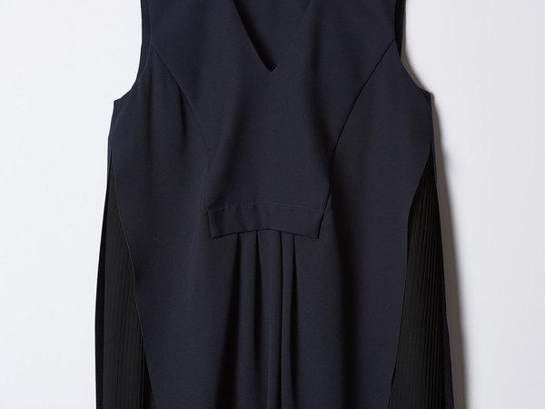 Carven Navy Dress