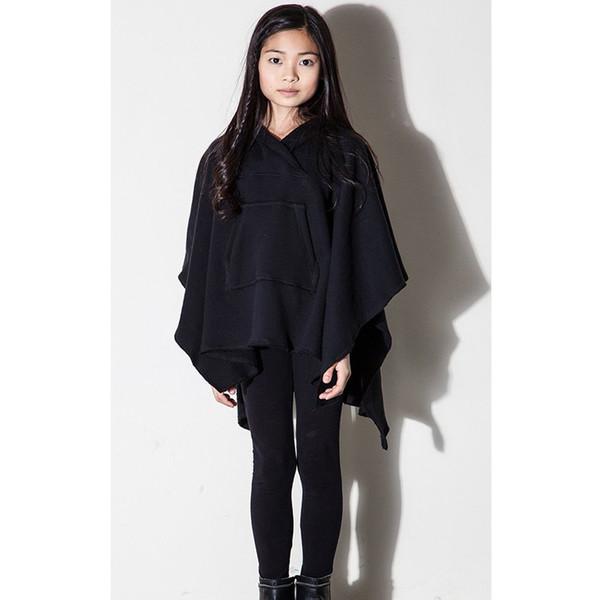 Kid's Mimobee Obi Wan Poncho - Black