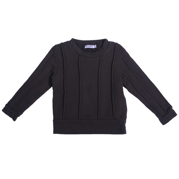 Kid's Mimobee Rugger Piped Sweat - Charcoal