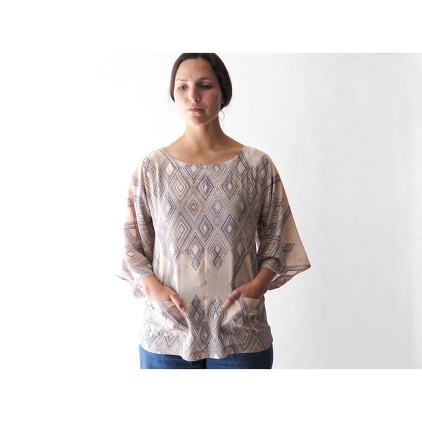 Erica Tanov arlo blouse
