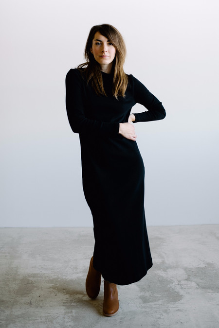 WINSOME Edie Long Knit Dress