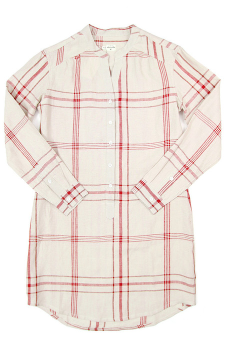 Bridge & Burn Ivy Natural Red Plaid