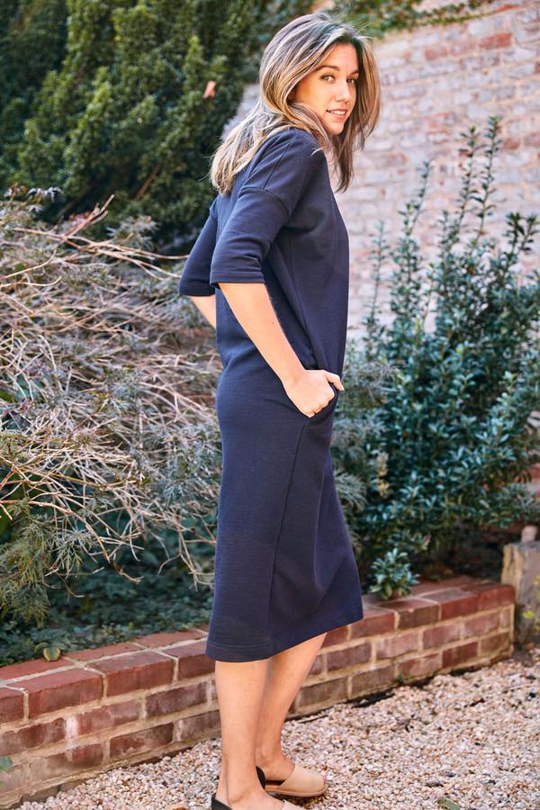 Ilana Kohn Barby Maxi Dress Navy