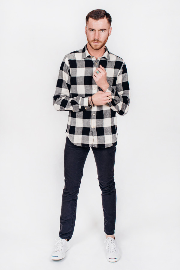 Men's Portuguese Flannel Búfalo Check
