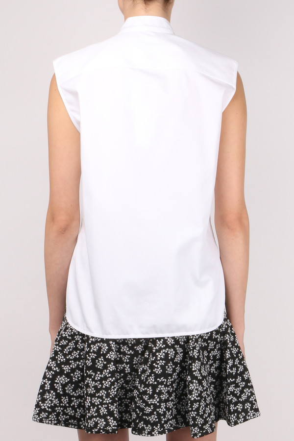 Carven Short Sleeveless Shirt