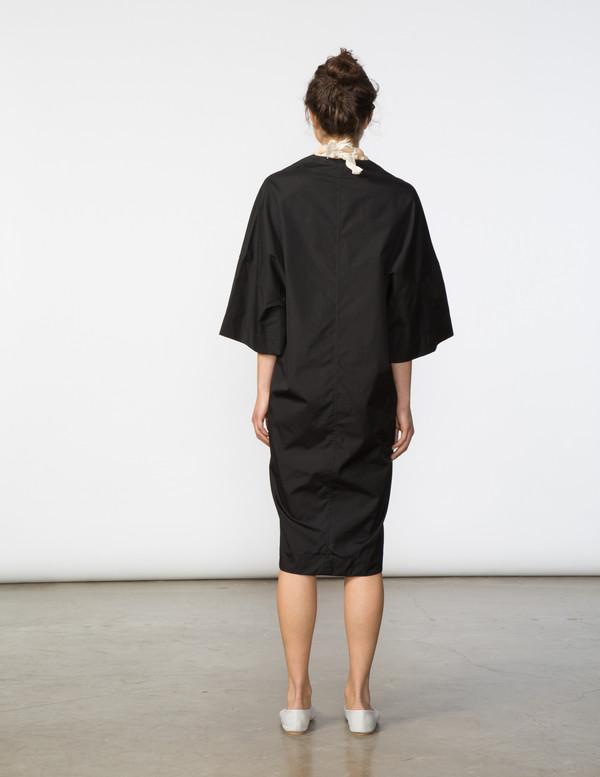 SBJ Austin Sadie Dress - Black Poplin