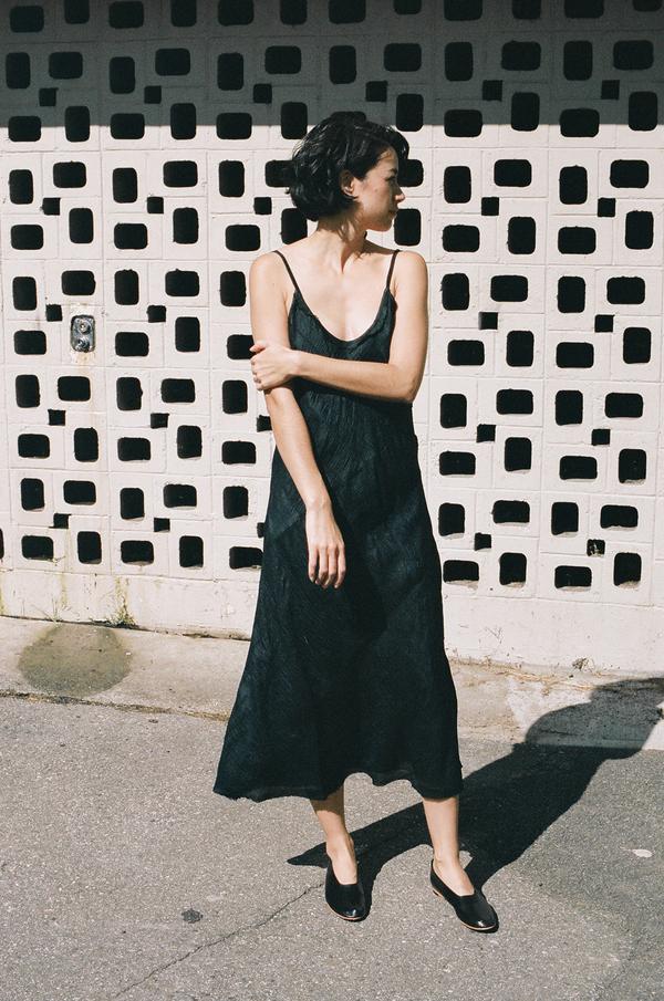 Anaak Scarlette Slip Dress Black
