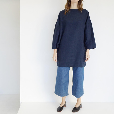LLOYD Navy Linen Tunic