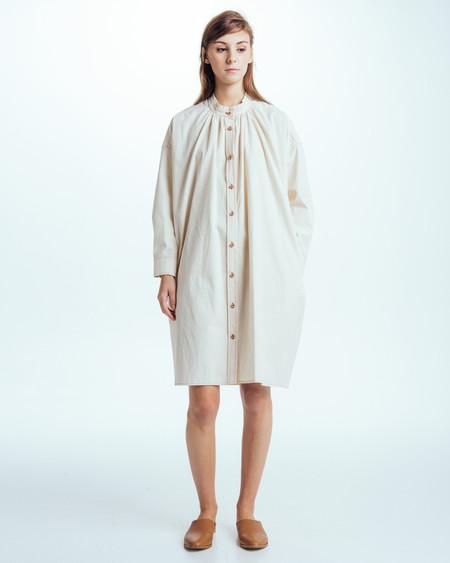 Caron Callahan Maria Shirt Dress in natural