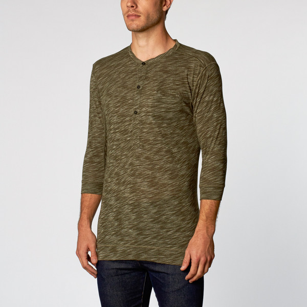 MEN'S WOLF & MAN RENGAR - FOREST GREEN