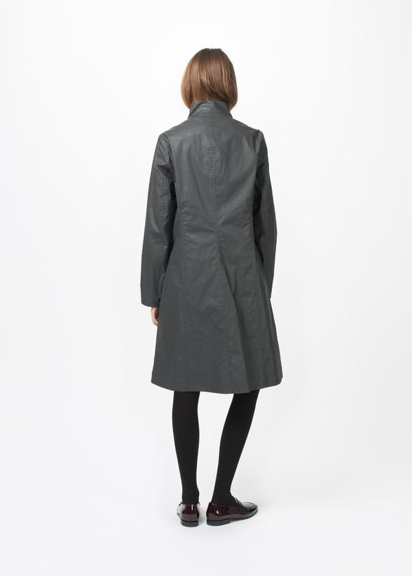Hudson Redding Offset Zipper Coat