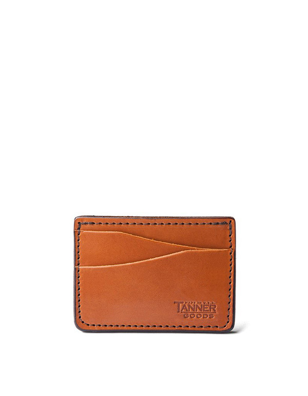 Tanner Goods Journeyman Wallet Saddle Tan