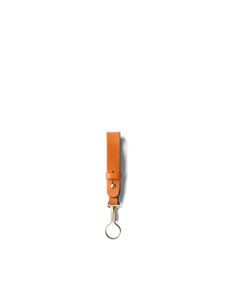 Tanner Goods Key Ring Lanyard Saddle Tan