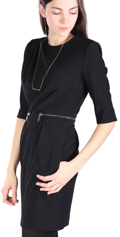 Hoss Intropia Ruched Zipper Dress