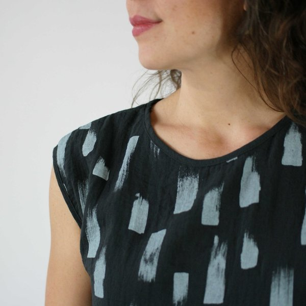 Make It Good Drift Blouse in Kale
