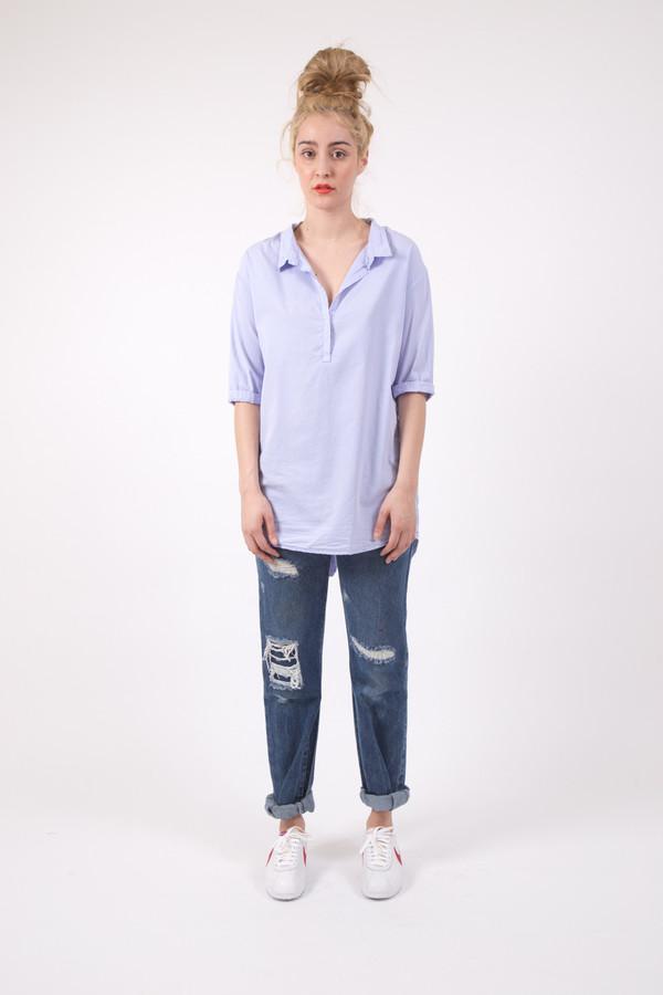 Humanoid Pietlut Poplin Silk Shirt