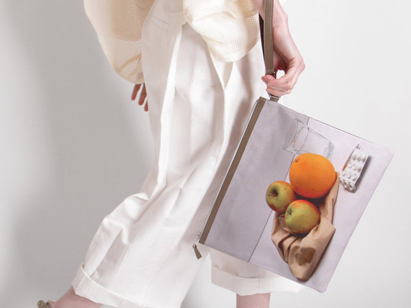 A'N'D Still Life Clutch - Fruits & Pill