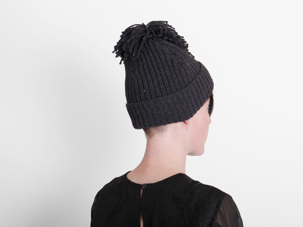Hansel From Basel Bobble Beanie - Navy