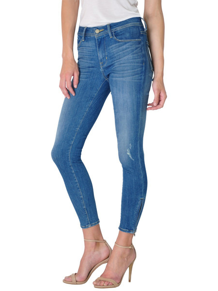FIDELITY DENIM BELVEDERE ZIP CROP IN VENICE