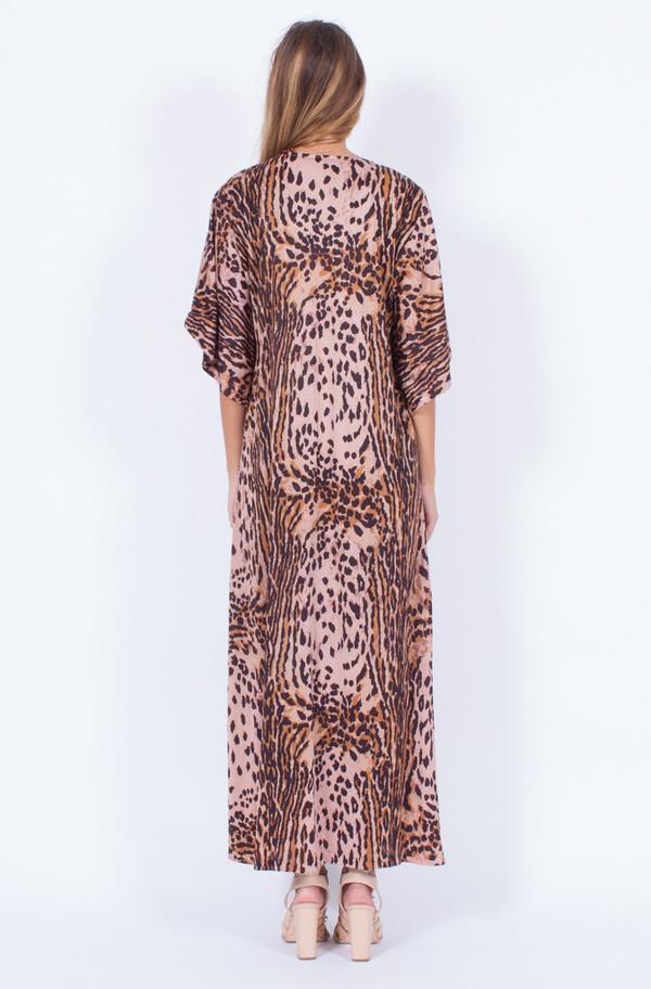 LEOPARD MAXI DRESS (MEDIUM)