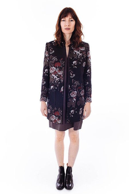 Ganni O'Donnell Brocade Jacket