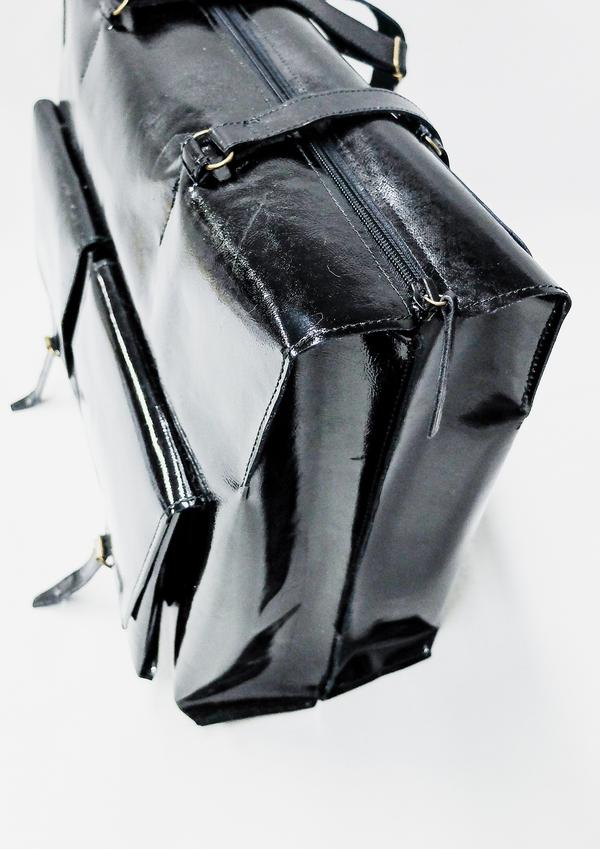 Berenik Bag Leather - Black Matt