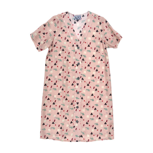 Dusen Dusen PINK FIVE DOT DRESS