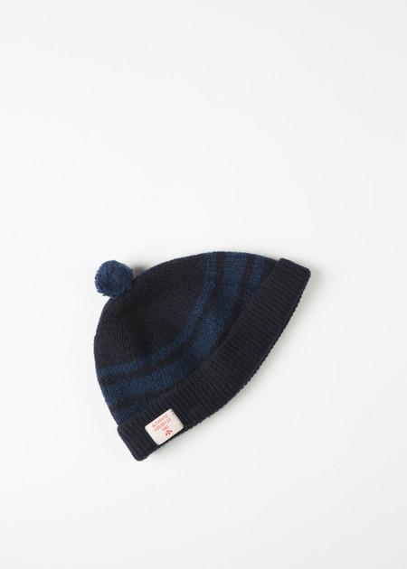 Men's Nigel Cabourn Scottish Knit Pom Pom Hat