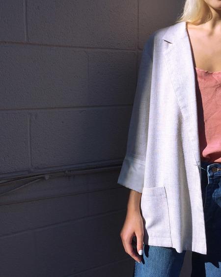 Vintage Linen Blouse