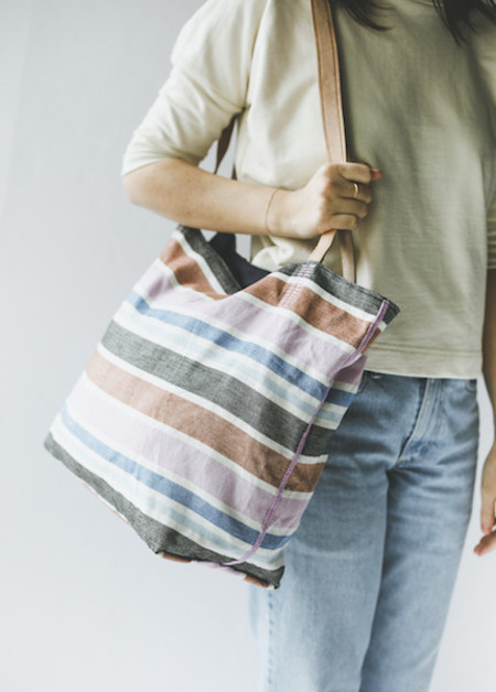 Proud Mary Tote Bag in Andres Stripe