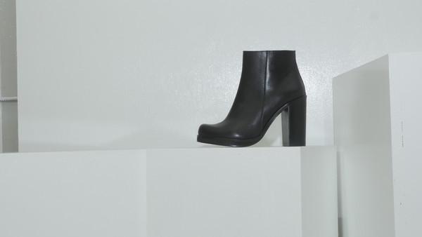 CROSSWALK SHOES POP UP LA BREA (2354) Black Leather