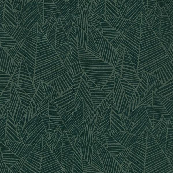Ali Golden SILK ANKLE PANT - GREEN PRINT