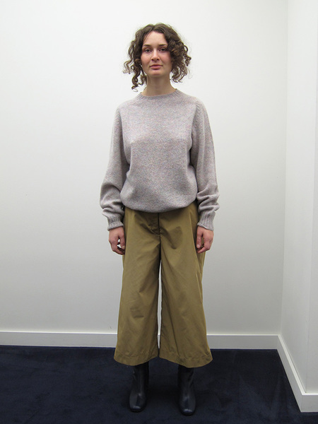 Nancy Stella Soto Poly Gabardine Trousers