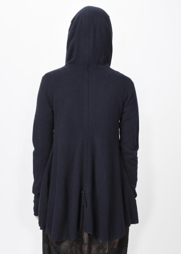Rundholz Dip A-Line Double Zipper Hoodie