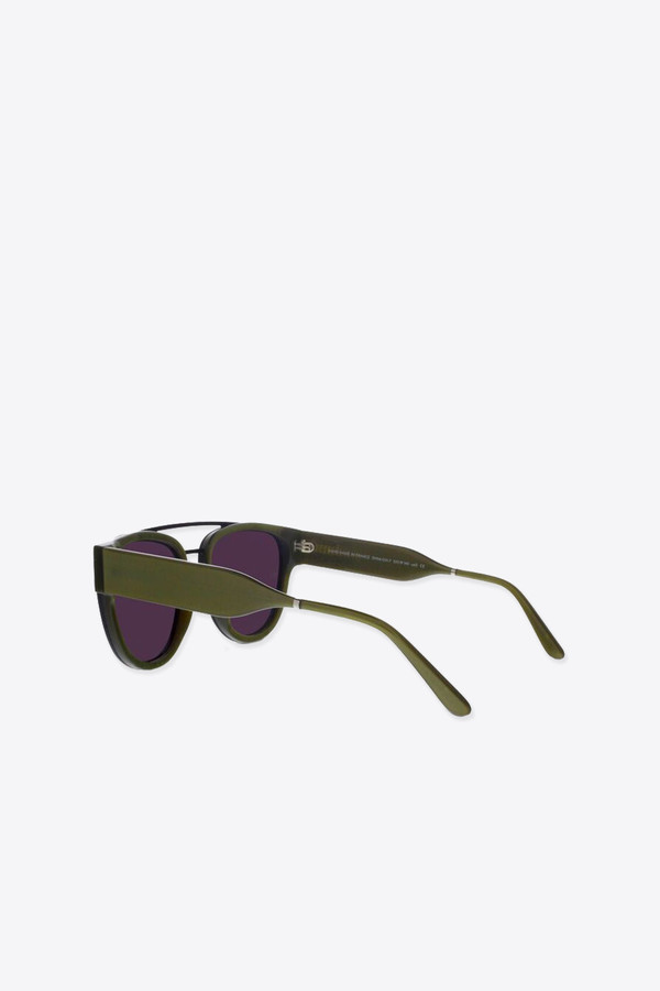 Men's Smoke x Mirrors Sodapop II Sunglasses in Gold Green/Black