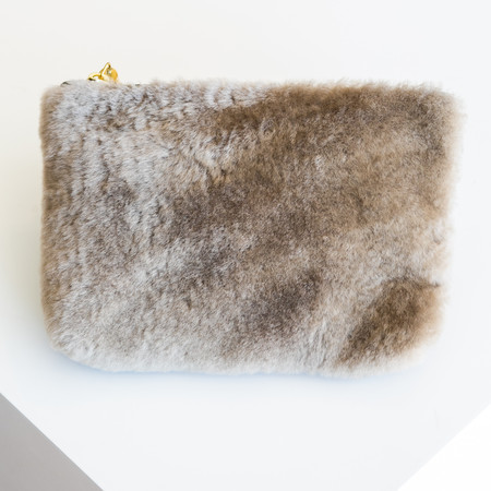 Kempton & Co Marlborough Cosmetic Pouch - Taupe