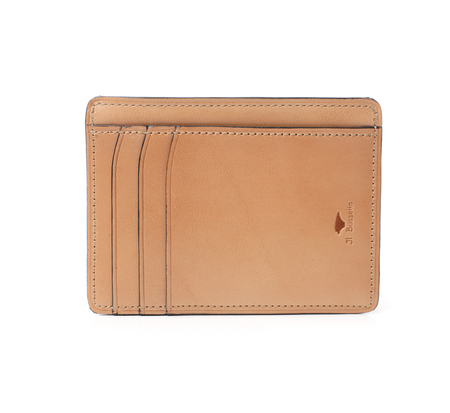 Il Bussetto Natural Card Case Wallet