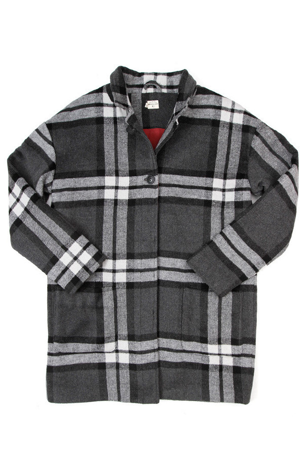 Bridge & Burn Joyce Grey Plaid