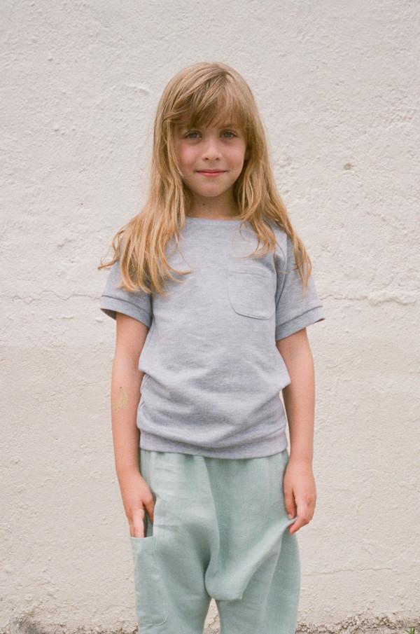 Kid's Boy+Girl S/S Knit Tee