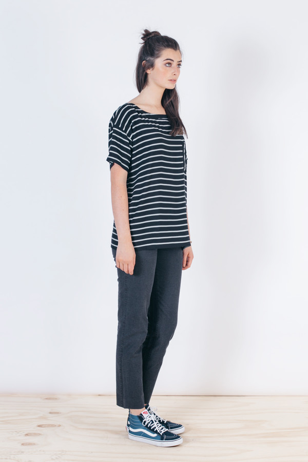 Bridge & Burn Aster Black Stripe