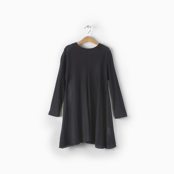 Andorine Black Swing Girly Dress
