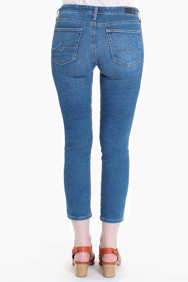 AG Jeans Prima crop in blue fragment