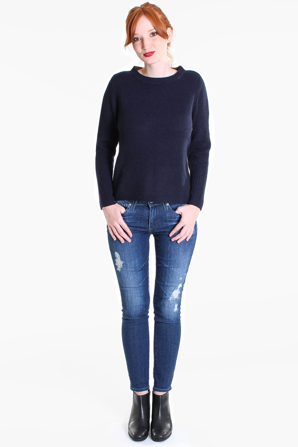 AG Jeans Beau slouchy skinny in 7 year