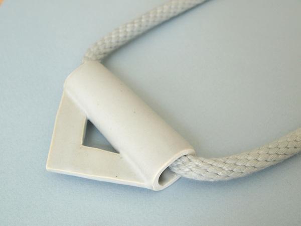 YYY triangle necklace