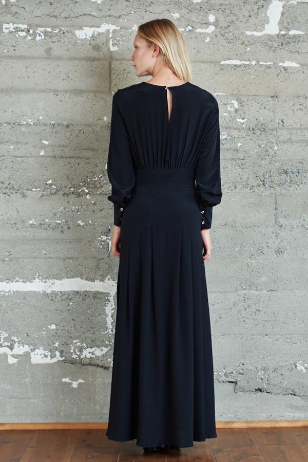 Kamperett Harper Keyhole Dress - Black