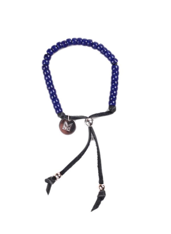 Men's MAPLE Bolo Bracelet Navy