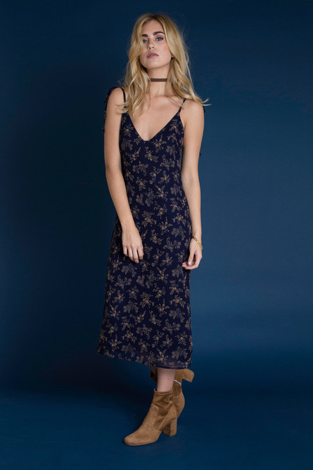BETWEEN TEN Mia Dress - Navy Floral