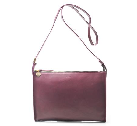 Clare V. Plum Fabienne Bag