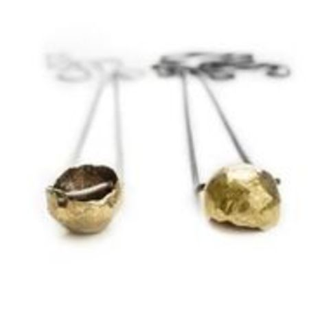 Rebekah J. Designs Lava Rock Necklace