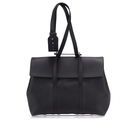 Bonastre Black Medium Shoulder Bauhaus Bag